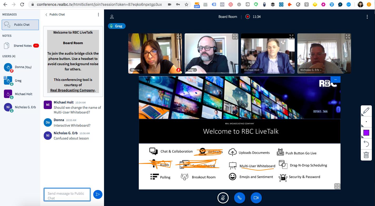 RealBC LiveTalk